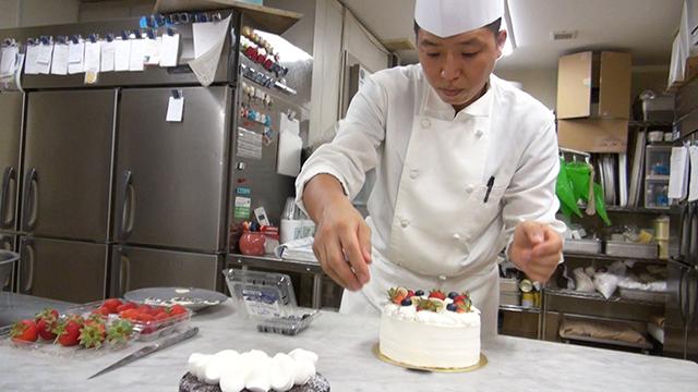 洋菓子製造、パティシエ