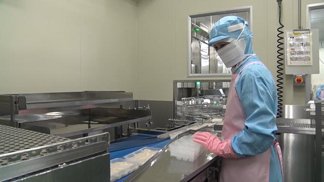 冷凍加工食品製造