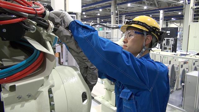 産業用ロボットの保守・メンテナンス
