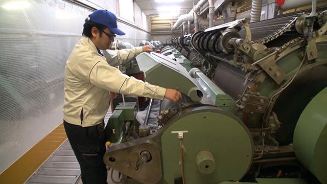 紡績機械オペレーター