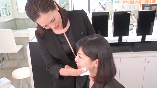 化粧品販売/美容部員