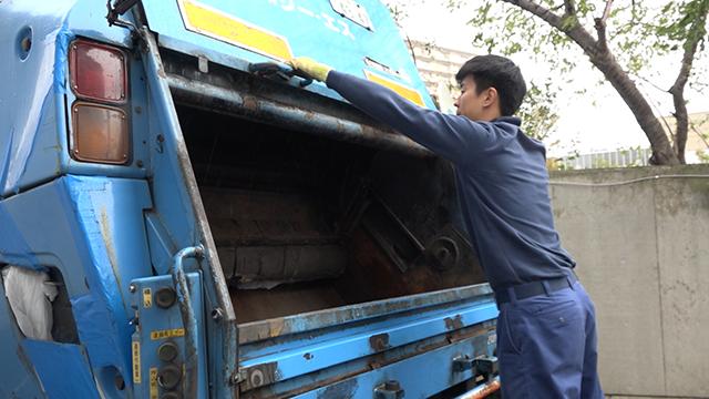 産業廃棄物収集運搬作業員